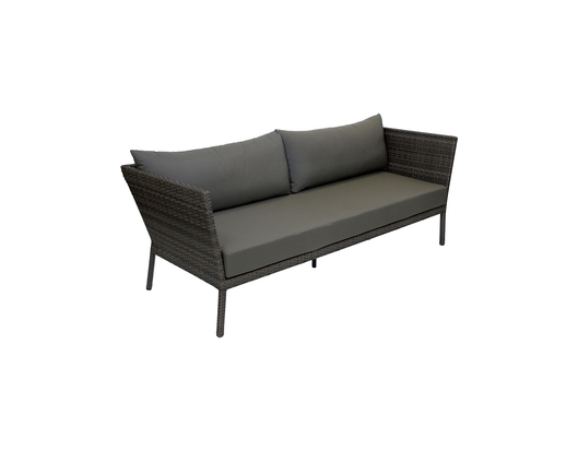 Atlanta Three Seater Wicker Outdoor Sofa