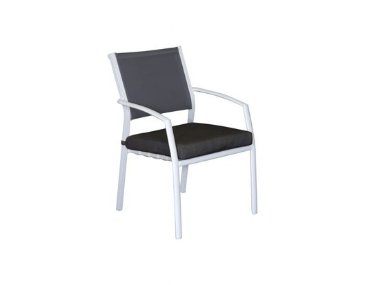 Sierra Aluminium Outdoor Dining Cushion Chair