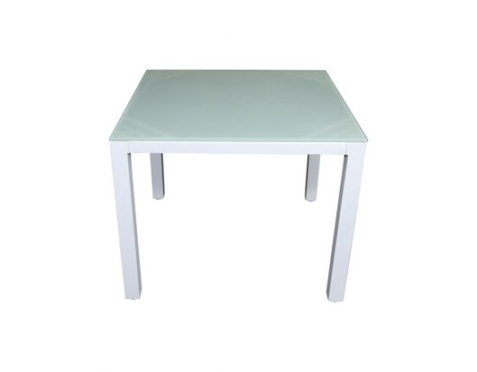 Aluminium Glass Top Tables