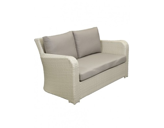 Barbados Two Seat Wicker Outdoor Lounge