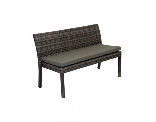 Iowa 1300 Wicker Outdoor Bench