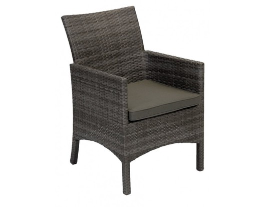 Iowa Full Side Wicker Outdoor Dining Chair