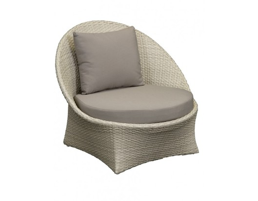 Lily Wicker Outdoor Garden Chair