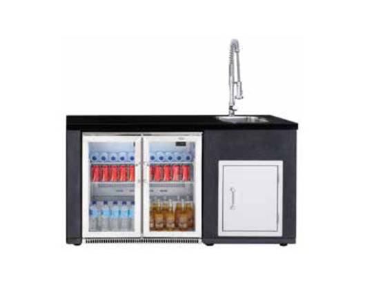 ARTISAN OUTDOOR KITCHEN OUTDOOR DISPLAY FRIDGE MODULE