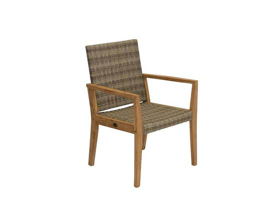 Calbri Mocha Wicker Chair